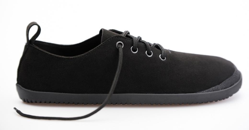 Barefoot Ahinsa Shoes Gopi Bare černá bosá
