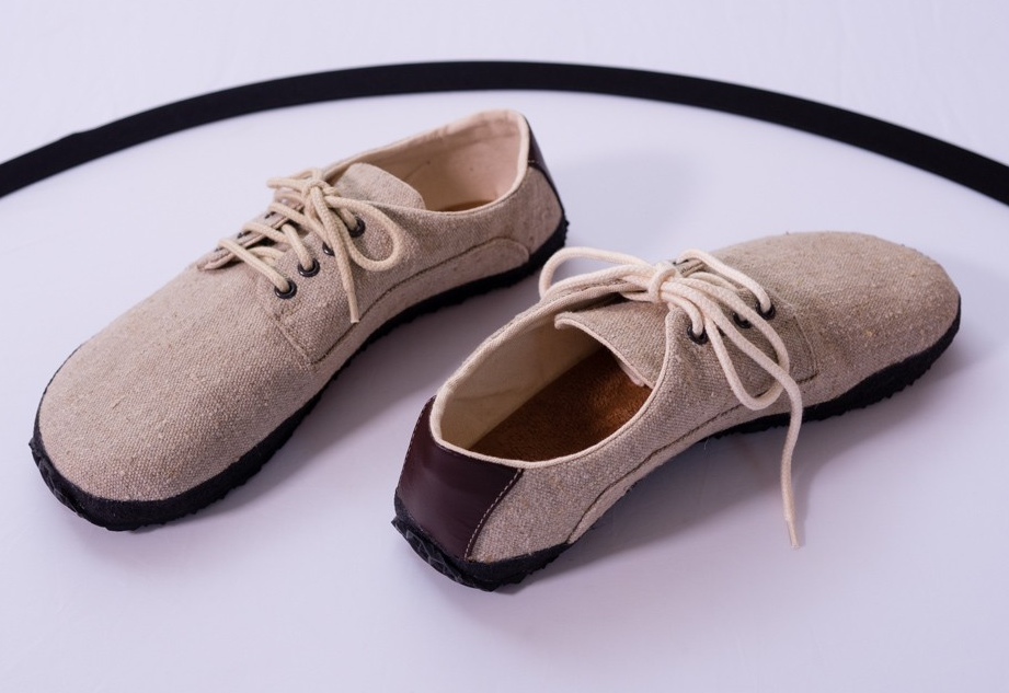 Barefoot Ahinsa shoes Sundara lněná bosá