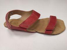 Barefoot Barefoot sandále Bora červené ORTOplus Barefoot bosá