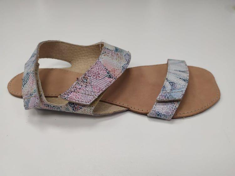 Barefoot Barefoot sandále Bora květinové ORTOplus Barefoot bosá