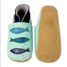 Barefoot Capáčky Lait et Miel sardinky bosá