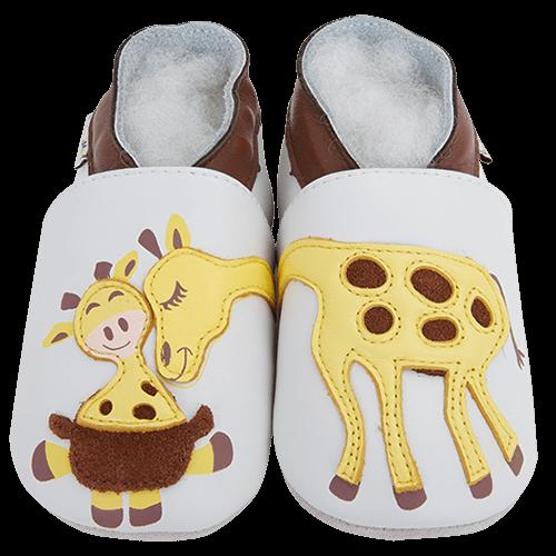Barefoot Capáčky Lait et Miel žirafa bosá