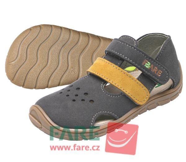 Barefoot FARE BARE dětské sandály 5164261 bosá