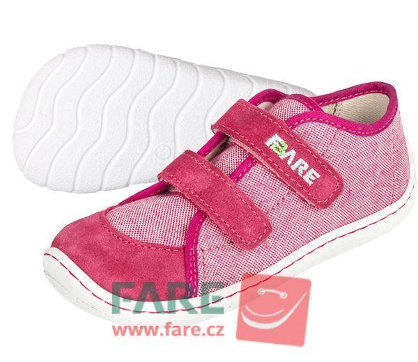 Barefoot FARE BARE DĚTSKÉ TENISKY 5115451 bosá