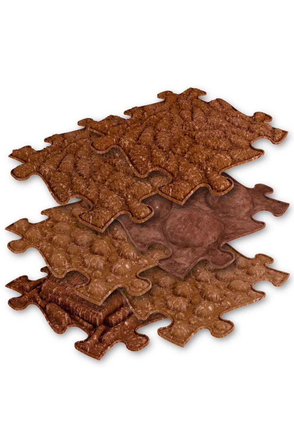 Barefoot Ortopedická podlaha MUFFIK puzzle EKO bosá