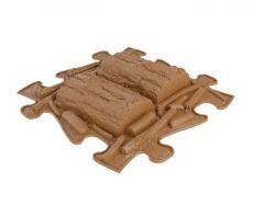 Barefoot Ortopedická podlaha MUFFIK puzzle Klády bosá