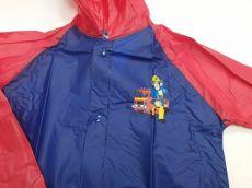 Barefoot Setino pláštěnka požárník SAM - tmavě modrá bosá
