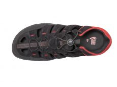 Barefoot Sole runner sandále FX Trainer black/red bosá
