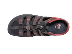 Barefoot Sole runner sandále FX Trainer brown/red bosá