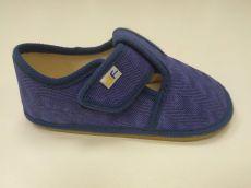 Barefoot 3F BAREFOOT papučky modré 3F BAR3FOOT bosá