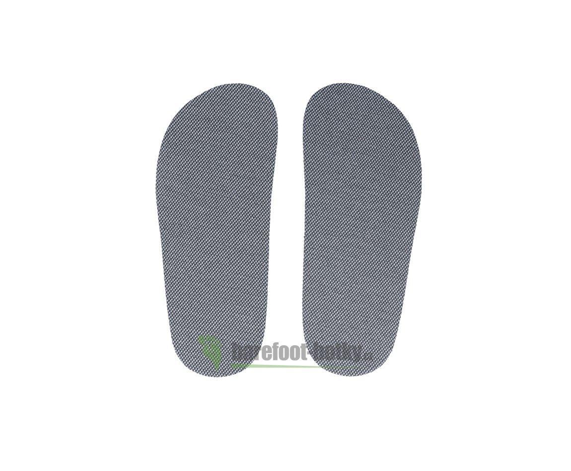 Barefoot Antibakteriální barefoot stélky s nanostříbrem - dětské Barefoot botky bosá