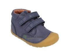 Barefoot Barefoot boty Bundgaard Petit Velcro Night Sky WS bosá
