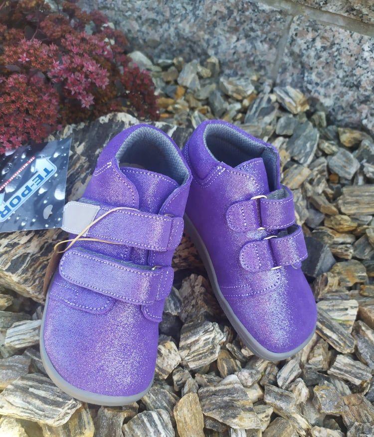 Barefoot Beda Barefoot Violette - celoroční boty s membránou bosá