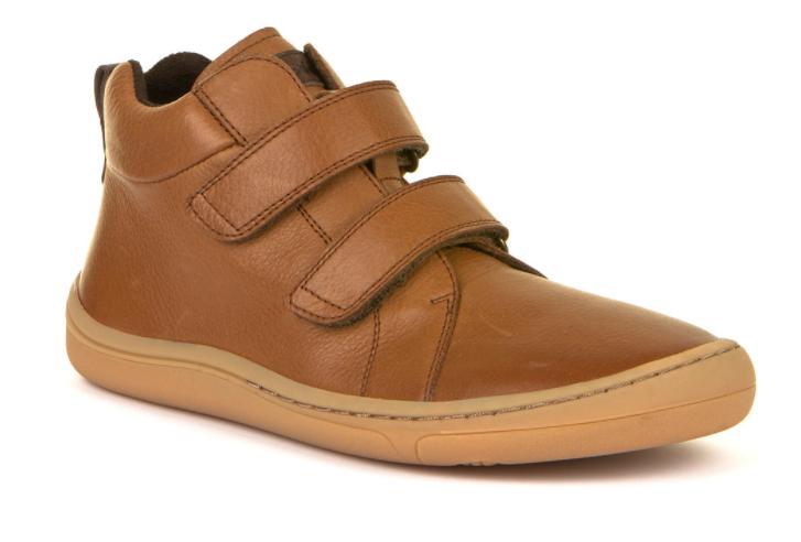 Barefoot Froddo barefoot kotníkové boty Cognac bosá