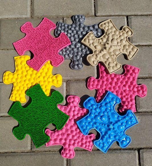 Barefoot Ortopedická podlaha MUFFIK puzzle MINI bosá
