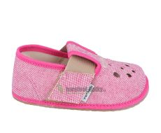Pegres barefoot papuče BF03 růžové