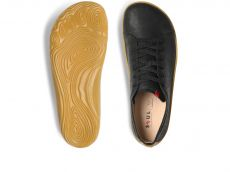 Barefoot Vivobarefoot ADDIS MENS BLACK bosá