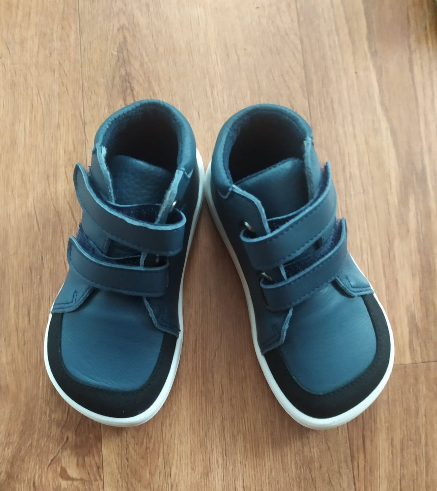 Barefoot Baby bare shoes Febo Fall navy s okopem bosá