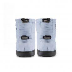 Barefoot Barefoot boty Stonz Puffer Booties - Haze blue bosá