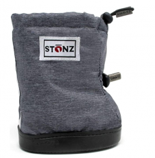 Barefoot boty Stonz Toddler Booties -  Heather Grey