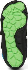 Barefoot Dětské barefoot botičky Affenzahn Minimal Lowboot Knit Panther - Grey/Black bosá