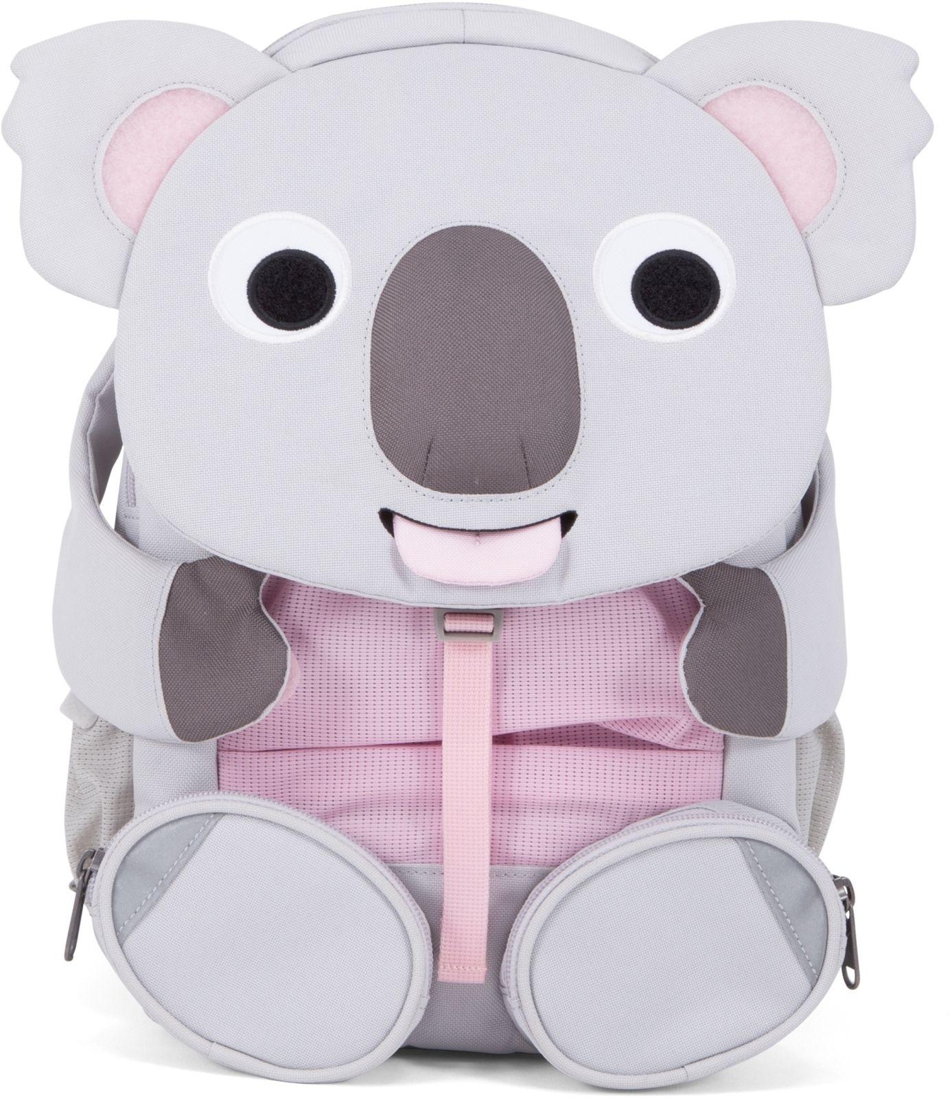 Barefoot Dětský batoh do školky Affenzahn Kimi Koala large - grey bosá