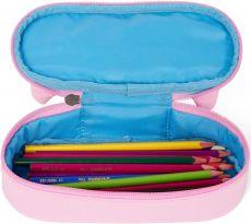Barefoot Dětský penál Affenzahn Pencil Case Ulrike Unicorn - pink bosá