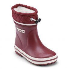 Zateplené holínky Bundgaard Short Sailor Rubber Boot bordeaux