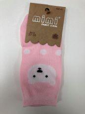 Barefoot Ponožky AURA VIA - šedo-růžové bosá