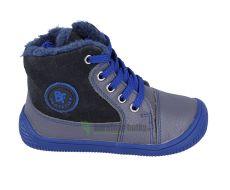 Protetika zimní barefoot boty Amis grey