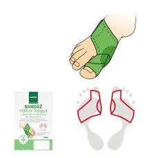 Barefoot SVORTO Bandáž Hallux Valgus s gelovým chráničem kloubu palce bosá