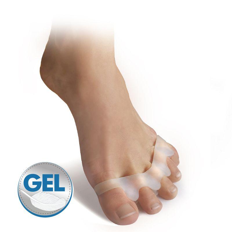 Barefoot SVORTO Gelový oddělovač prstů bosá