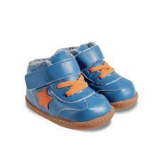 Zimní botičky Little Blue Lamb Beck blue
