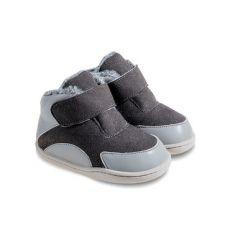Zimní botičky Little Blue Lamb Bony dark grey