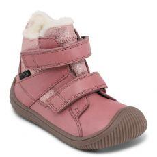 Zimní boty Bundgaard Walk Velcro Tex Nostalgia Rose
