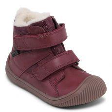 Zimní boty Bundgaard Walk Velcro Tex Plum