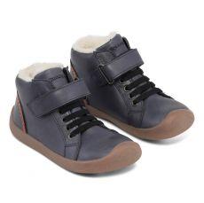 Barefoot Zimní boty Bundgaard Walker Mid Lace night sky bosá