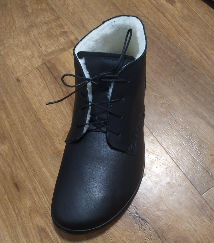 Barefoot Barefoot boty Angles THALES EV WINTER BLACK Angles Fashion bosá