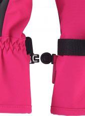 Barefoot Dětské membránové rukavice Reima Tartu - Raspberry Pink bosá