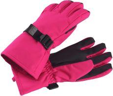 Dětské membránové rukavice Reima Tartu - Raspberry Pink | 6, 7, 8