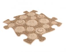 Barefoot Ortopedická podlaha MUFFIK puzzle Louka měkka bosá