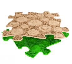 Ortopedická podlaha MUFFIK puzzle Louka měkká
