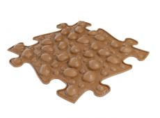 Barefoot Ortopedická podlaha MUFFIK puzzle Ořechy bosá