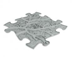 Podlaha MUFFIK puzzle kořeny měkké
