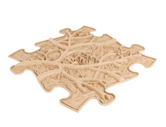 Barefoot Podlaha MUFFIK puzzle kořeny tvrdé bosá
