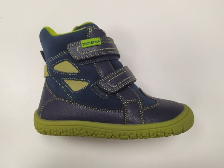Barefoot Protetika zimní barefoot boty Elis navy bosá