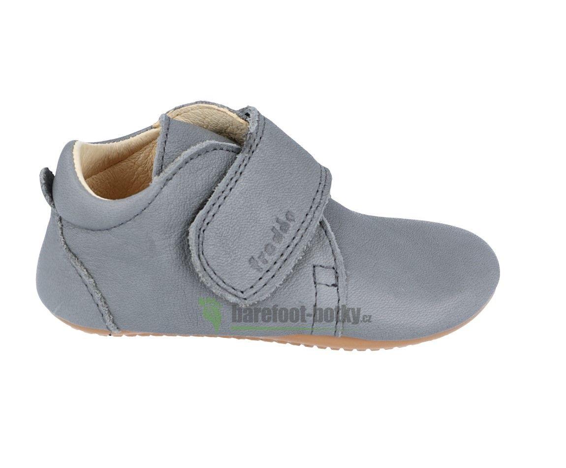 Barefoot Froddo prewalkers light grey bosá