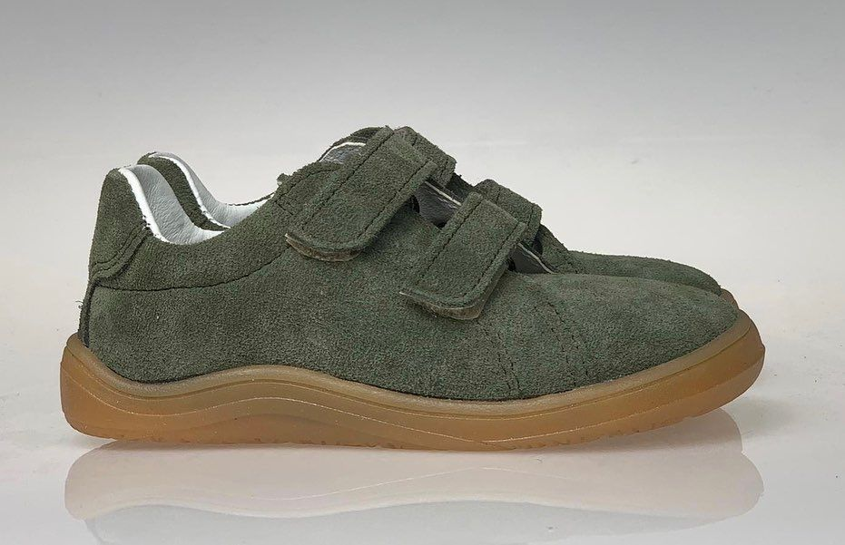 Barefoot Baby bare shoes Febo Spring Army bosá