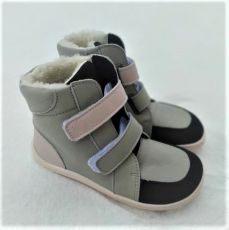 BABY BARE WINTER GREY PINK OKOP ASFALTICO