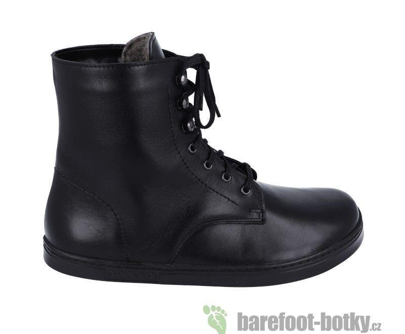 Barefoot Barefoot boty Peerko Frost black bosá